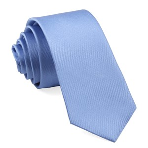 grosgrain solid carolina blue ties
