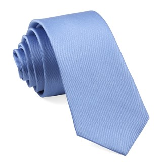 Grosgrain Solid Carolina Blue Tie