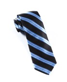 Ties - Bar Stripes - Black