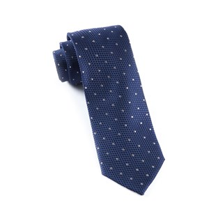 grenafaux dots navy ties