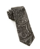 Ties - Empire Paisley - Charcoal