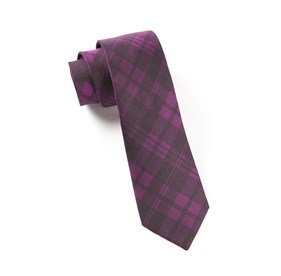 Azalea Mood Plaid ties