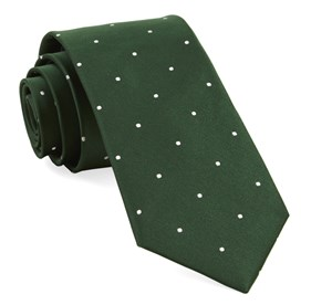 Hunter Satin Dot ties