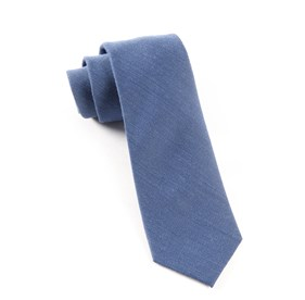 Blue Downtown Solid ties