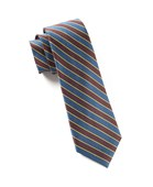 Ties - Road House Stripe - Root Beer