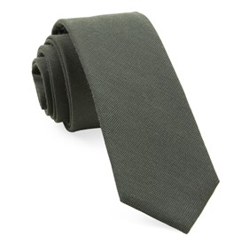 Army Green Downtown Solid ties
