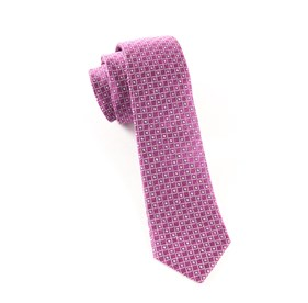 Magenta City Lights ties