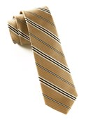 Ties - Crosstrax Stripe - Latte