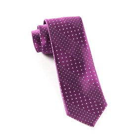 Azalea Pulsating Dots ties