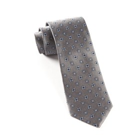 Grey Juneberry ties