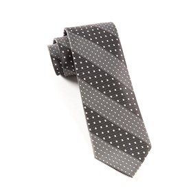 Washed Black Pulsating Dots ties