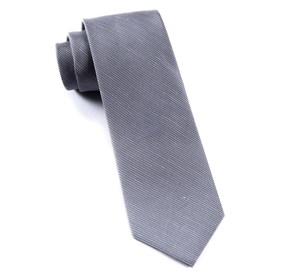 Silver Fountain Solid ties