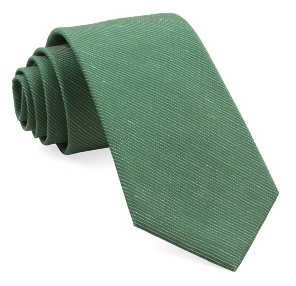 Fountain Solid Grass Tie