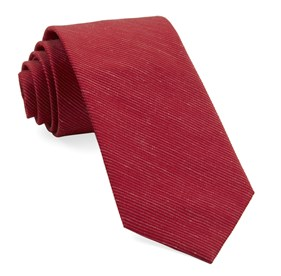 Fountain Solid Red Ties
