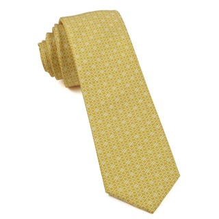 geoflower yellow ties