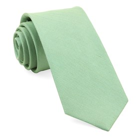 Sand Wash Solid Apple Green Ties