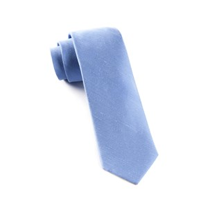 sand wash solid light blue ties