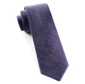 Sand Wash Solid Deep Purple Ties