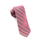 Ties - Cliffside Stripe - Red