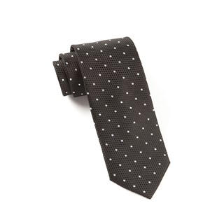 grenafaux dots black ties