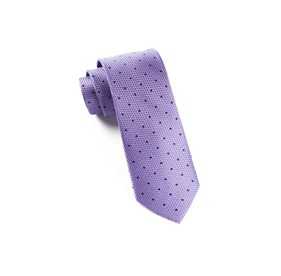 Grenafaux Dots Light Purple Ties