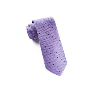Grenafaux Dots Light Purple Tie