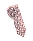 Ties - Twilight Plaid - Red