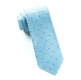 Bulletin Dot Washed Pool Blue Ties