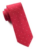 Ties - Bulletin Dot - Apple Red