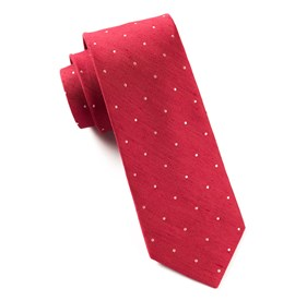 Bulletin Dot Apple Red Ties