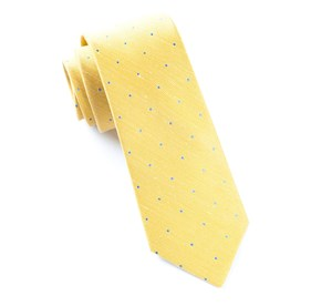 Yellow Bulletin Dot ties
