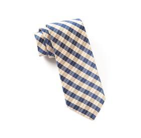 Profile Plaid Champagne Ties