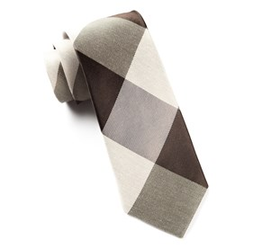 Browns Bison Plaid ties