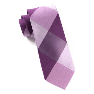 bison plaid azalea ties