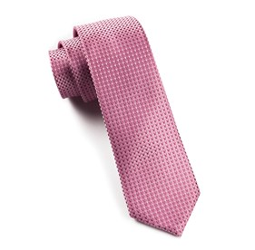 Pinks Chiclet ties