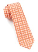 Ties - Iron Gate - Tangerine