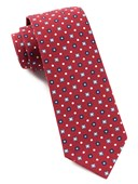 Ties - Blossom Row - Red