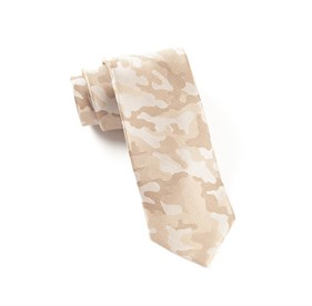 Light Champagne Camo ties