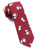 Ties - Outland Floral - Red