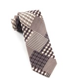 Ties - Vista Plaid - Browns