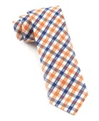Ties - Campus Plaid - Orange