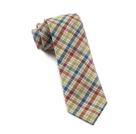 Clover Picnic Plaid ties