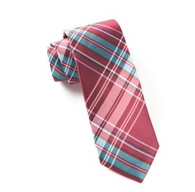 Cranberry The Director's Plaid ties