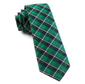 Ensemble Plaid Green Ties