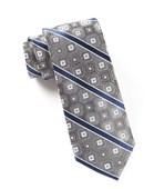 Ties - The Entourage - Charcoal