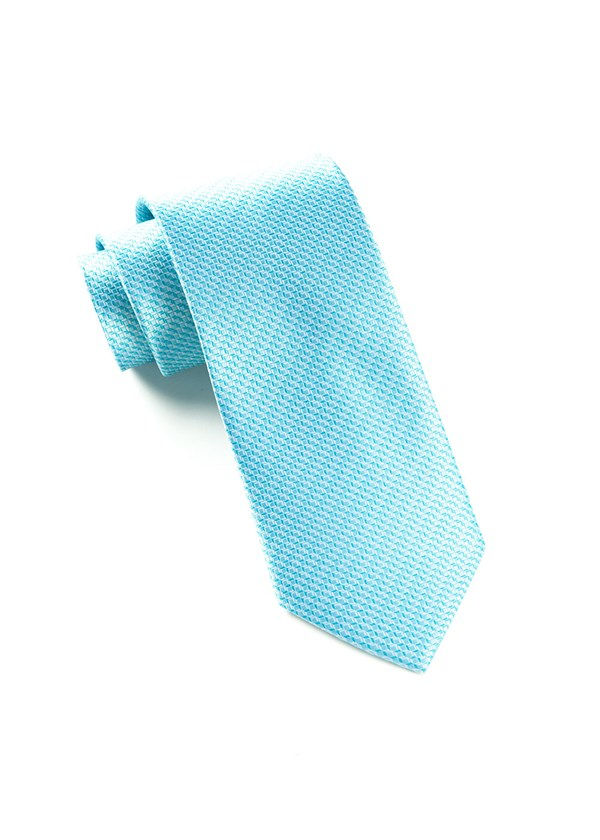 Ovation Solid Turquoise Tie