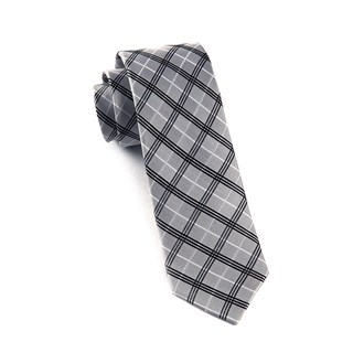 concord plaid silver ties