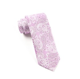 Orchid Waltzing Paisley ties
