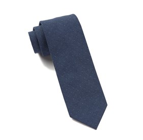 Dark Blue Thomas Dot ties