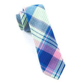 furlong plaid key lime ties